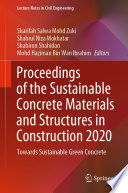 Proceedings of the Sustainable Concrete Materials and Structures in Construction 2020