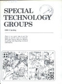 Special Technology Groups Catalog