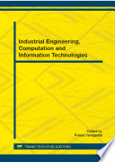 Industrial Engineering  Computation and Information Technologies Book