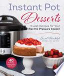 Instant Pot Desserts