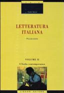 Letteratura italiana. Piccola storia