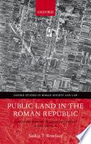 Public Land in the Roman Republic Book