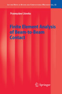 Finite Element Analysis of Beam-to-Beam Contact [Pdf/ePub] eBook
