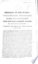 Rebellion in the North       Vallandigham s plan to overthrow the government  etc Book