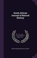 South African Journal Of Natural History