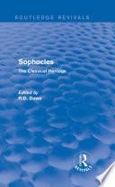 Sophocles  Routledge Revivals