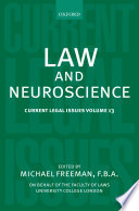 Law and Neuroscience Book