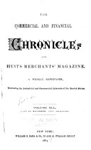 Pdf The Commercial & Financial Chronicle and Hunt's Merchants' Magazine
