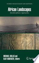 African Landscapes Book