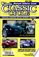 WALNECK'S CLASSIC CYCLE TRADER, MAY 2008