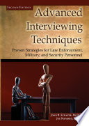 Advanced Interviewing Techniques Book