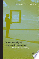 On the Anarchy of Poetry and Philosophy