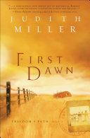 First Dawn (Freedom's Path Book #1) Pdf/ePub eBook