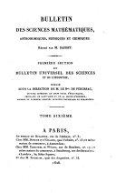 Bulletin universel des sciences et de l'industrie. 1