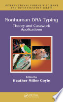 Nonhuman DNA Typing Book