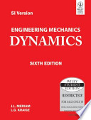 ENGINEERING MECHANICS: DYNAMICS, 6TH ED