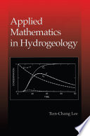 Applied Mathematics in Hydrogeology