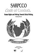 SARPCCO Code of Conduct