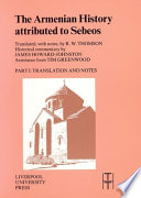 The Armenian History Attributed to Sebeos