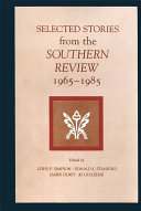 Selected Stories from the Southern Review ebook