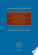 Practitioner S Handbook On International Commercial Arbitration