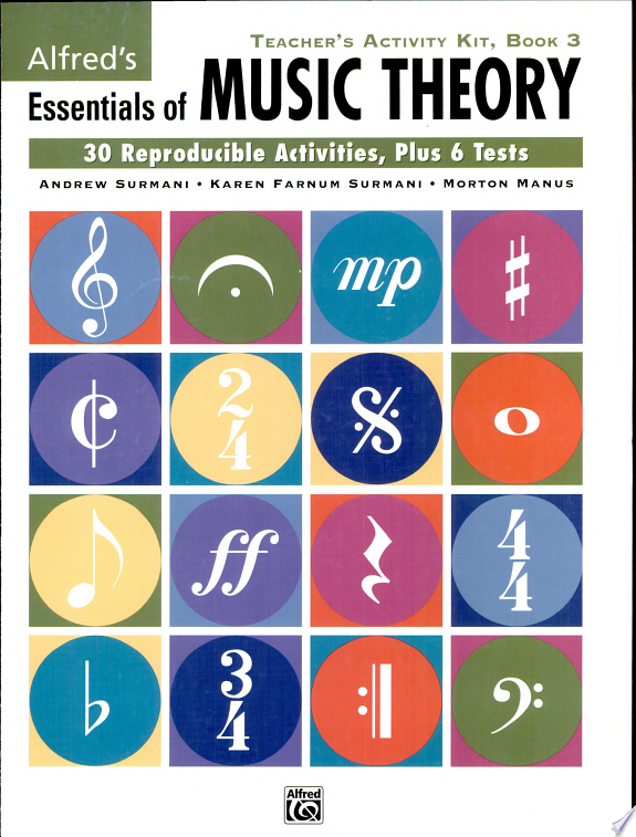 Essentials of Music Theory  Bk 3  Teacher s Activity Kit