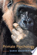 Primate Psychology Book