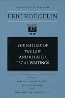 The Nature of the Law and Related Legal Writings
