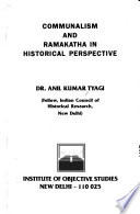Communalism and Ramakatha in Historical Perspective