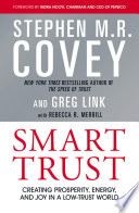 """Smart Trust"" by Stephen M. R. Covey"