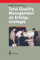 Total Quality Management als Erfolgsstrategie