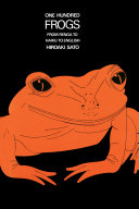 One Hundred Frogs Book