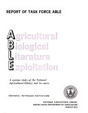 Agricultural-biological Literature Exploitation