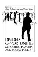 Divided Opportunities: Minorities, Poverty and Social Policy