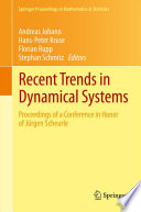 Recent Trends in Dynamical Systems
