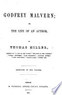 Godfrey Malvern; or, the life of an author ... With ... illustrations by Phiz i.e. H. K. Browne