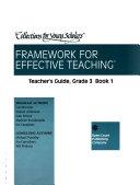 Framework for Effective Teaching