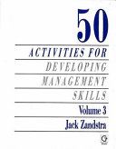 50 Activities for Developing Management Skills