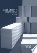 Concrete Masonry Designer s Handbook Book