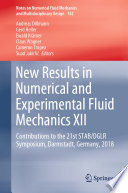 New Results In Numerical And Experimental Fluid Mechanics Xii Book PDF