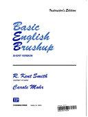 Basic English Brushup  Short Version  Book