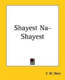 Shayest Na-Shayest