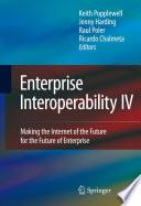 Enterprise Interoperability IV