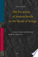 The Invasion of Sennacherib in the Book of Kings Book