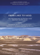 From Lake to Sand. The Archaeology of Farafra Oasis Western desert, ...