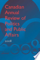 Canadian Annual Review of Politics and Public Affairs 2008