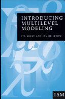 Introducing Multilevel Modeling