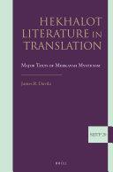 Hekhalot Literature in Translation