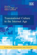 Transnational Culture in the Internet Age Pdf/ePub eBook