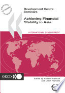 Development Centre Seminars Achieving Financial Stability in Asia